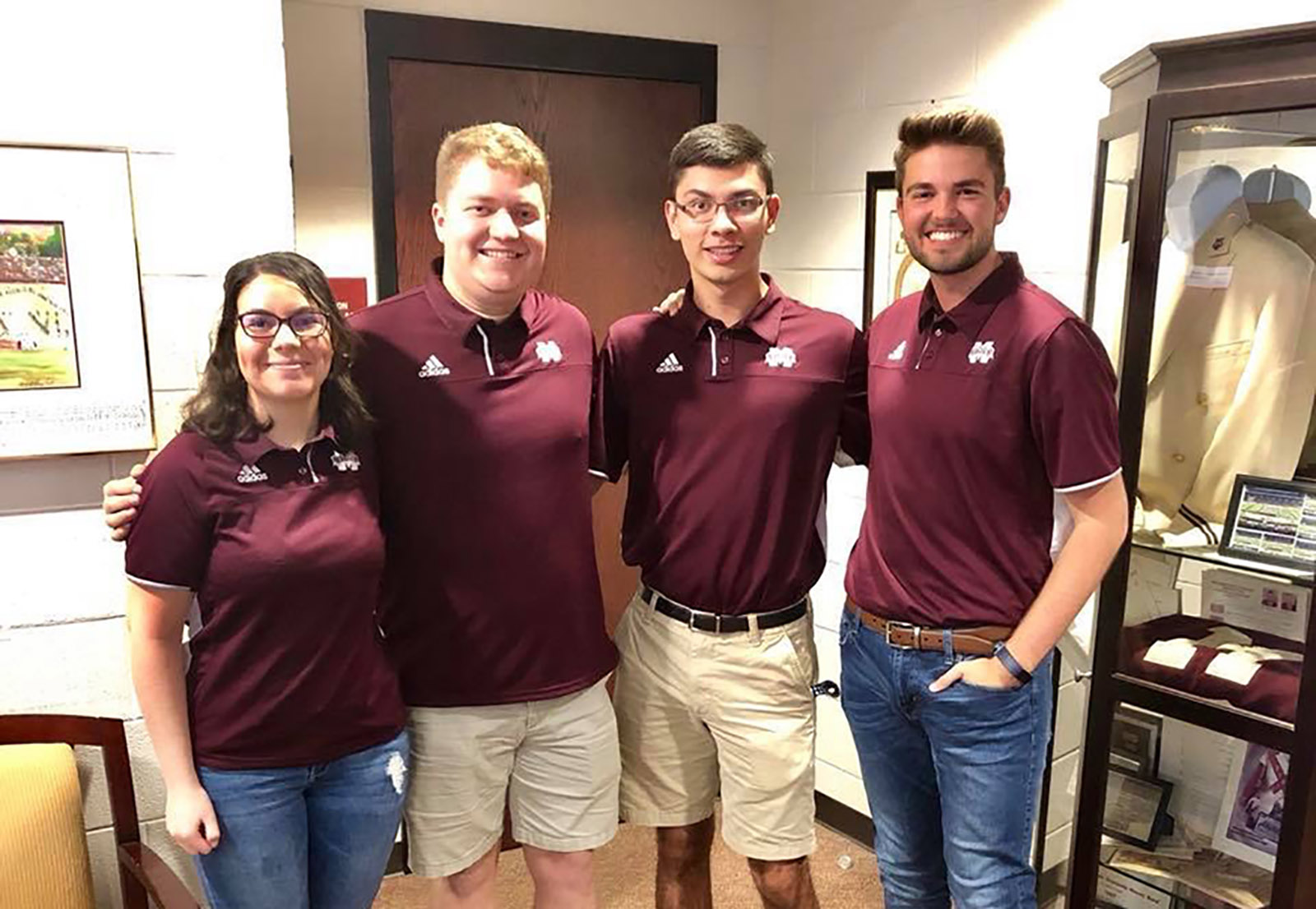 Famous Maroon Band Drum Majors 2019-20